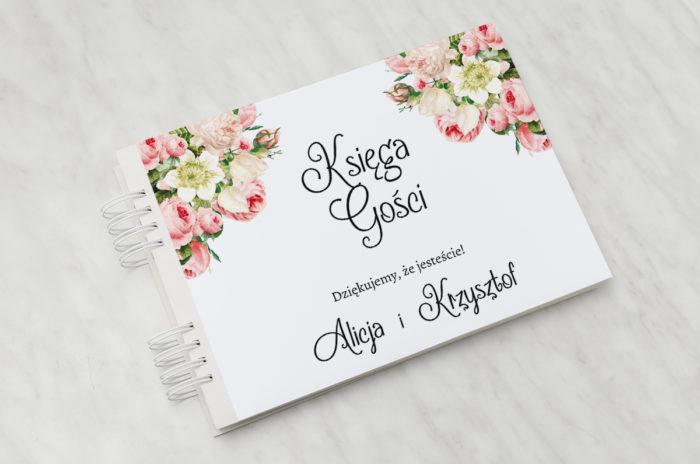 ksiega-gosci-kremowa-fantazja-z-roza-papier-matowy-dodatki-ksiega-gosci