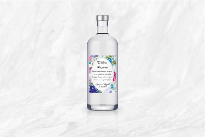 naklejka-na-alkohol-kwiaty-polne-papier-bialy-samoprzylepny