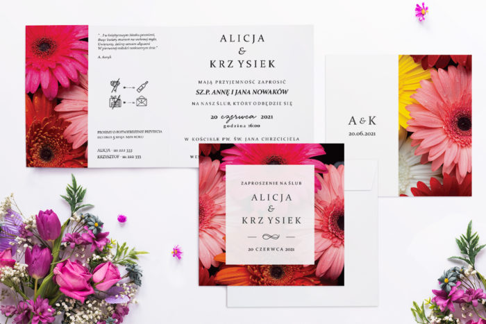 zaproszenie-slubne-fotograficzne-kwiaty-wzor-18-papier-matowy-koperta-bez-koperty