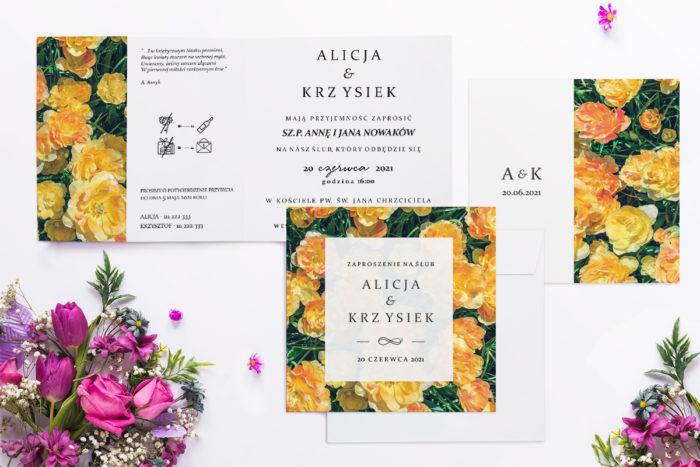 zaproszenie-slubne-fotograficzne-kwiaty-wzor-19-papier-matowy-koperta-bez-koperty