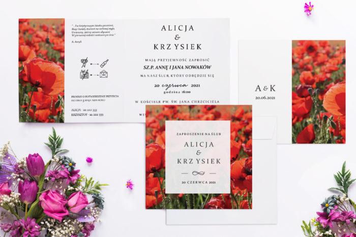 zaproszenie-slubne-fotograficzne-kwiaty-wzor-23-papier-matowy-koperta-bez-koperty