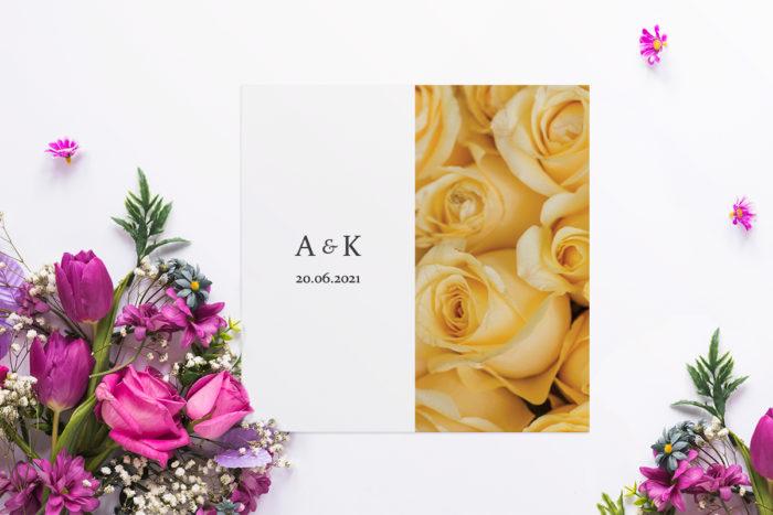 zaproszenie ślubne fotograficzne