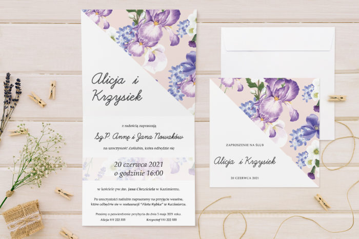 zaproszenie-slubne-kwiatowe-tla-wzor-11-papier-matowy-koperta-bez-koperty