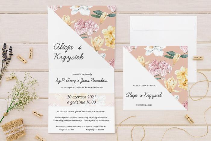 zaproszenie-slubne-kwiatowe-tla-wzor-17-papier-matowy-koperta-bez-koperty