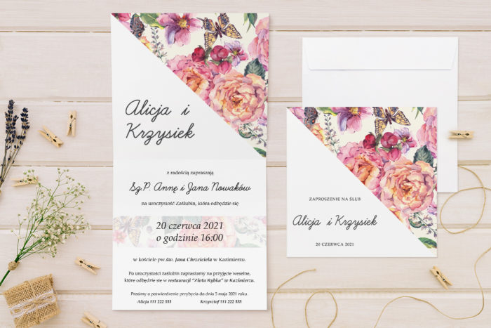 zaproszenie-slubne-kwiatowe-tla-wzor-22-papier-matowy-koperta-bez-koperty