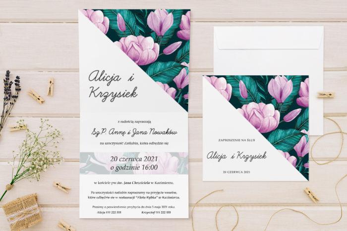 zaproszenie-slubne-kwiatowe-tla-wzor-25-papier-matowy-koperta-bez-koperty