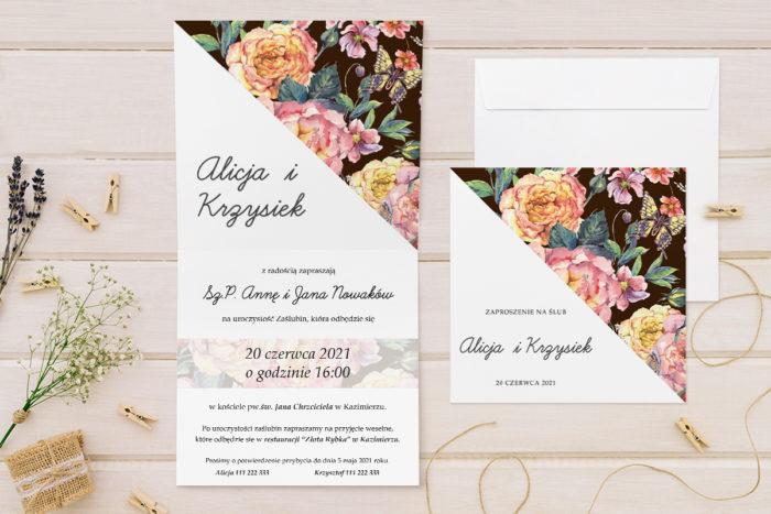 zaproszenie-slubne-kwiatowe-tla-wzor-9-papier-matowy-koperta-bez-koperty