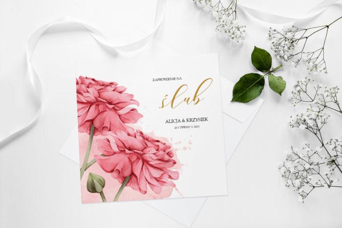zaproszenie-slubne-namalowane-kwiaty-wzor-1-papier-matowy-koperta-bez-koperty