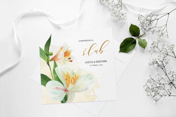 zaproszenie-slubne-namalowane-kwiaty-wzor-24-papier-matowy-koperta-bez-koperty