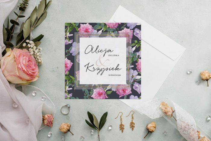 zaproszenie-slubne-kwiatowy-tyl-wzor-10-papier-matowy-koperta-bez-koperty
