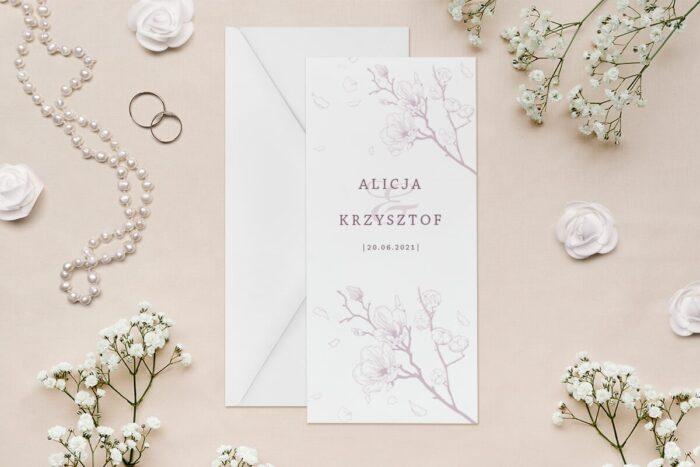 zaproszenie-slubne-rysunkowe-kwiaty-dl-wzor-11-papier--koperta-bez-koperty