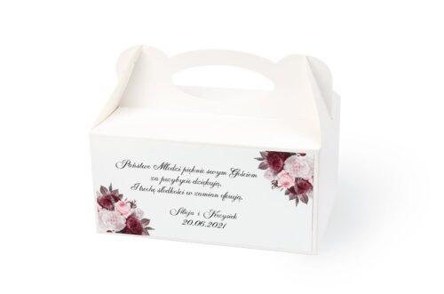 naklejka na pudełko na ciasto wzór 11