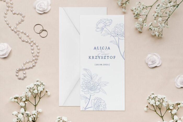 zaproszenie-slubne-rysunkowe-kwiaty-dl-wzor-14-papier--koperta-bez-koperty