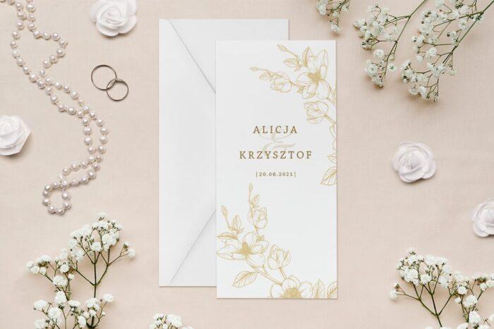 zaproszenie-slubne-rysunkowe-kwiaty-dl-wzor-15-papier--koperta-bez-koperty