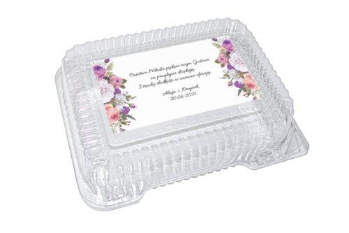 naklejka na pudełko plastikowe wzór 18