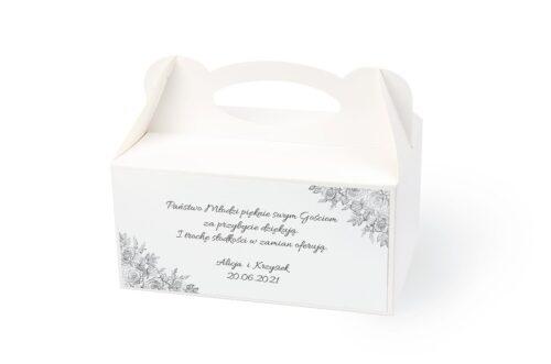 naklejka na pudełko na ciasto wzór 2