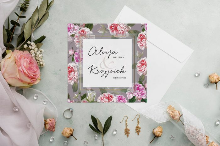 zaproszenie-slubne-kwiatowy-tyl-wzor-20-papier-matowy-koperta-bez-koperty