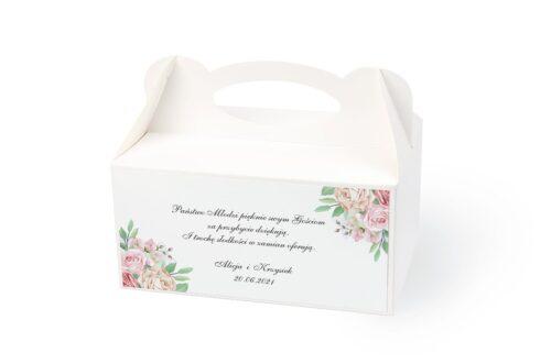 naklejka na pudełko na ciasto wzór 25