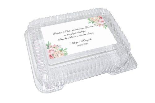 naklejka na pudełko plastikowe wzór 25