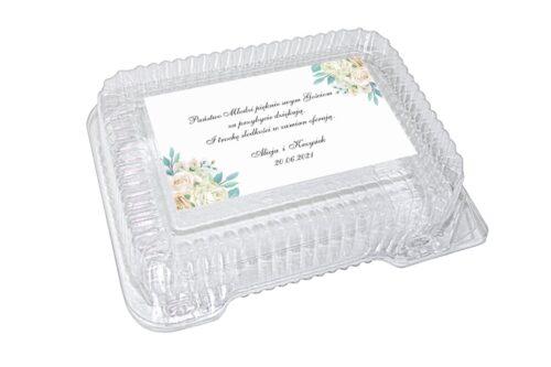 naklejka na pudełko plastikowe wzór 27