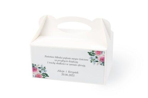 naklejka na pudełko na ciasto wzór 28