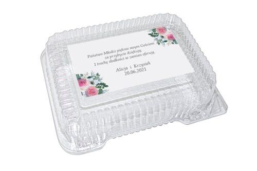 naklejka na pudełko plastikowe wzór 28