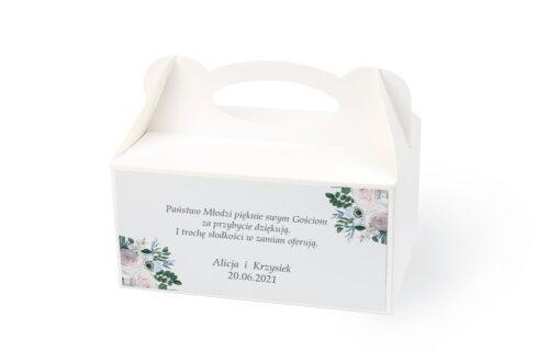 naklejka na pudełko na ciasto wzór 29