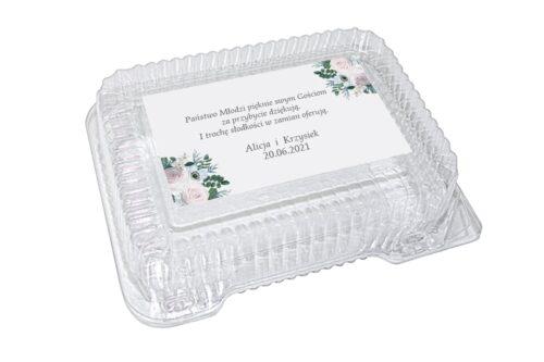 naklejka na pudełko plastikowe wzór 29