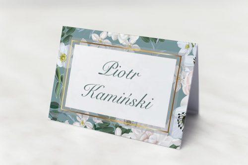 Winietka ślubna z kolekcji kwiatowy tył
