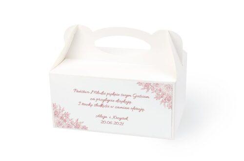 naklejka na pudełko na ciasto wzór 3
