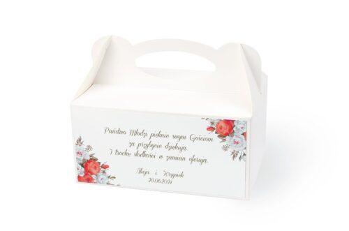naklejka na pudełko na ciasto wzór 33