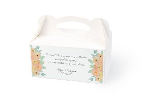 naklejka na pudełko na ciasto wzór 38