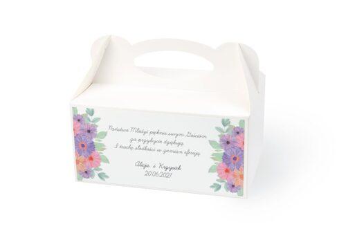 naklejka na pudełko na ciasto wzór 39