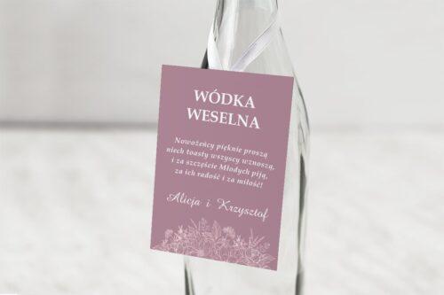 zawieszka na alkohol brudny róż