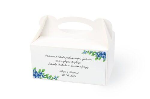 naklejka na pudełko na ciasto wzór 40
