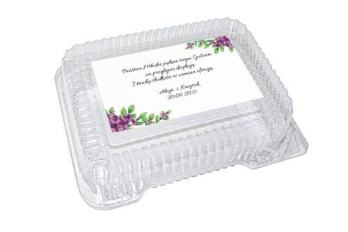 naklejka na pudełko plastikowe wzór 42