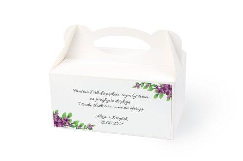 naklejka na pudełko na ciasto wzór 42