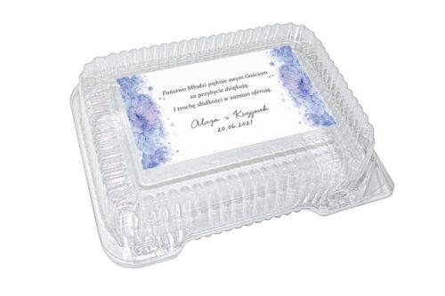 naklejka na pudełko plastikowe wzór 44