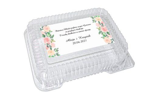 naklejka na pudełko plastikowe wzór 46