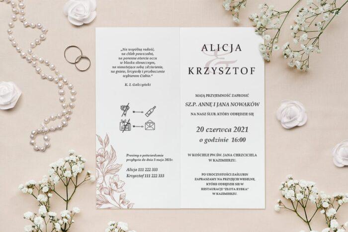 rysowane kwiaty