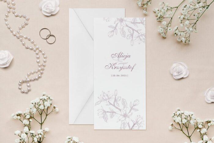 zaproszenie-slubne-rysunkowe-kwiaty-dl-wzor-6-papier--koperta-bez-koperty