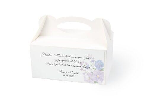 naklejka na pudełko na ciasto wzór 61