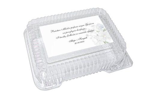 naklejka na pudełko plastikowe wzór 62
