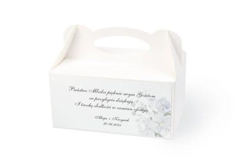 naklejka na pudełko na ciasto wzór 62