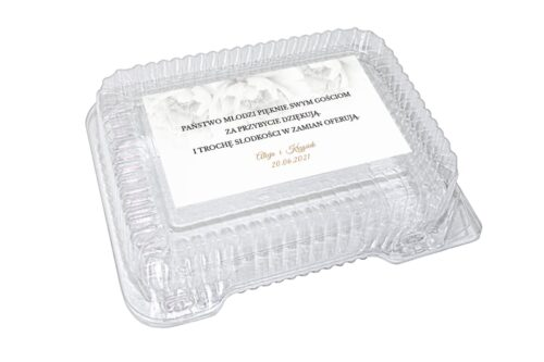 naklejka na pudełko plastikowe wzór 7
