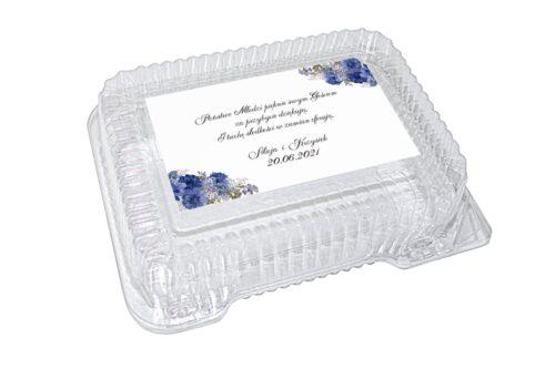 naklejka na pudełko plastikowe wzór 74