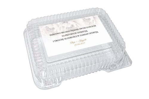 naklejka na pudełko plastikowe wzór 8