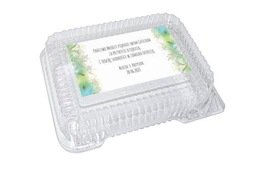 naklejka na pudełko plastikowe wzór 87
