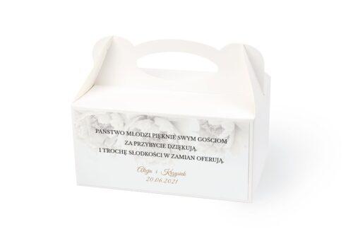 naklejka na pudełko na ciasto wzór 9