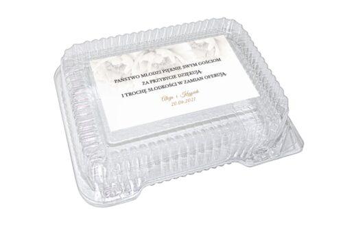 naklejka na pudełko plastikowe wzór 9